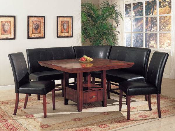 Dining Table Corner Chairs