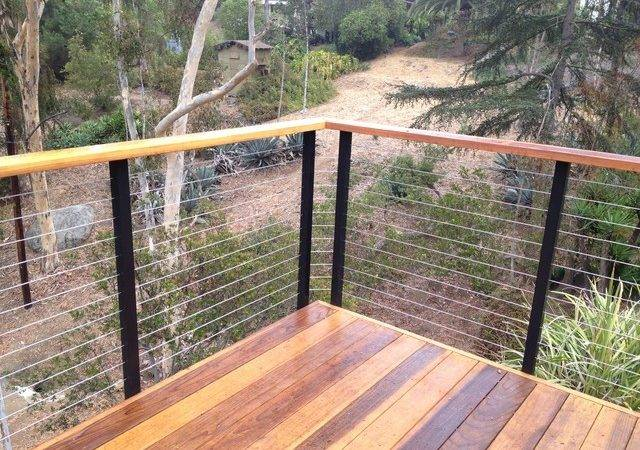 Diy Cable Railing Contemporary Deck Other San