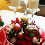 Diy Christmas Wine Glass Table Centerpieces Youtube