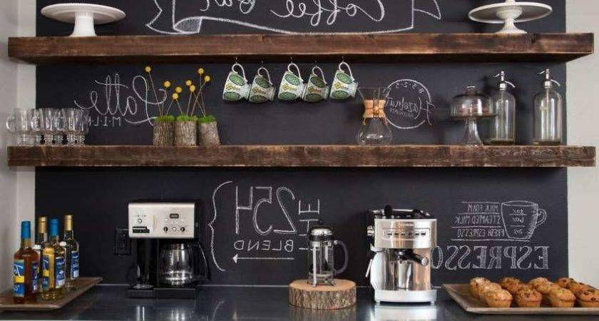 Diy Coffee Bar Ideas Your Home Stunning