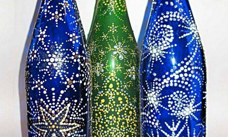 Diy Decorations Reuse Glass Bottles Recycled Things
