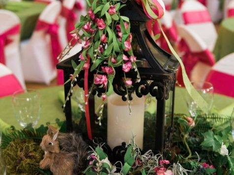 Diy Enchanted Forest Centerpiece