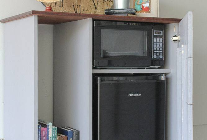 Diy Mini Refrigerator Storage Cabinet Plans