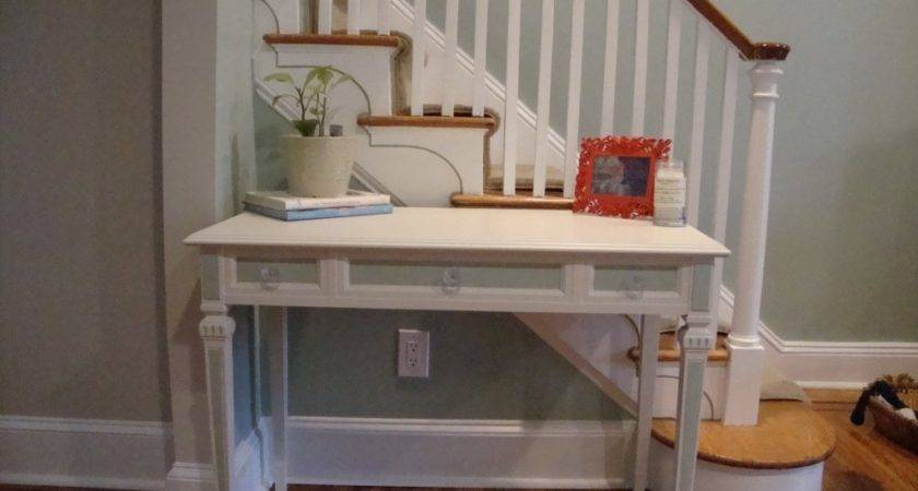 Diy Shab Chic Desk Staging Chick Inside Shabby