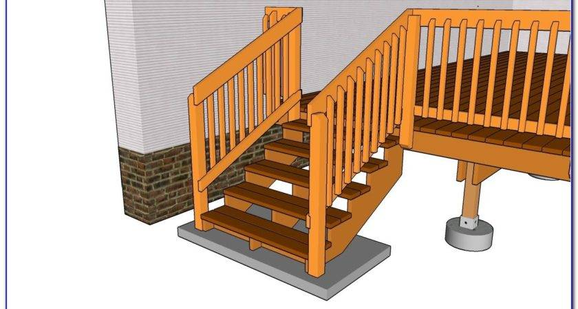 Diy Stair Railing Exterior Projects