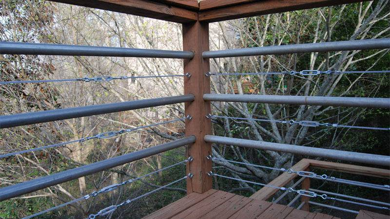 Diy Tension Cable Railing Killer Design