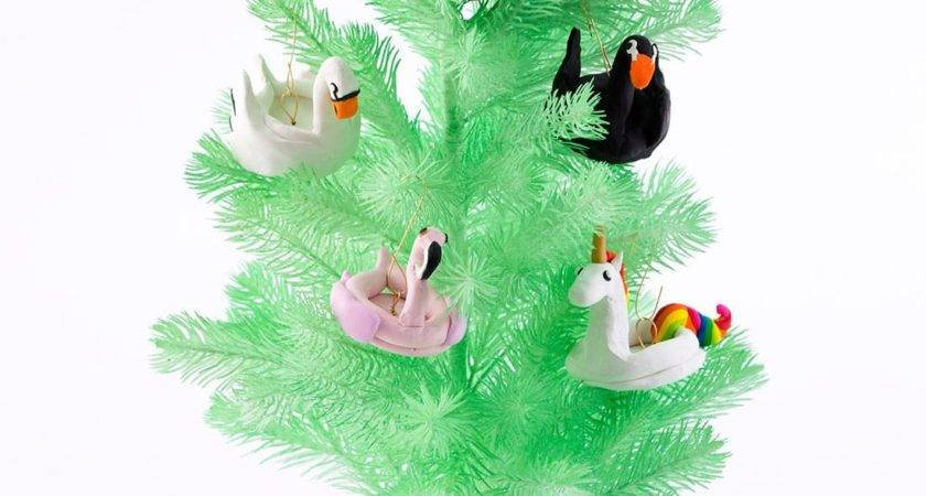 Diy These Flamingo Pool Float Ornaments Instagram