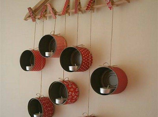 Diy Tins Candle Light Great Idea Homes