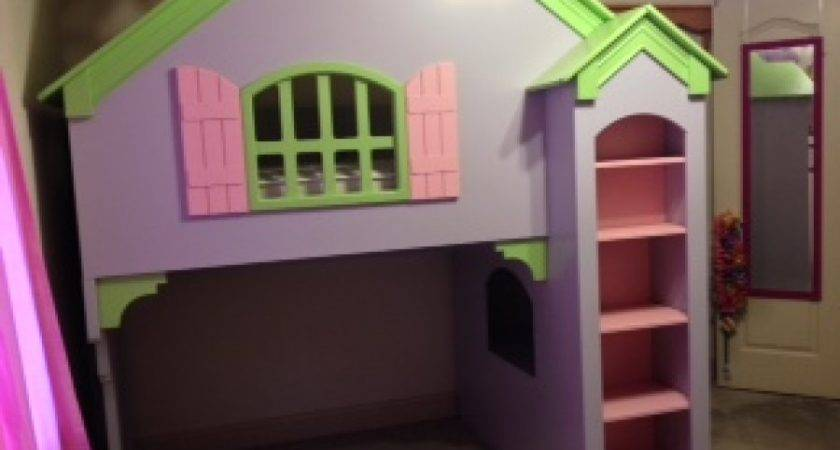 Dollhouse Bunk Bed Moved Permanently Loft