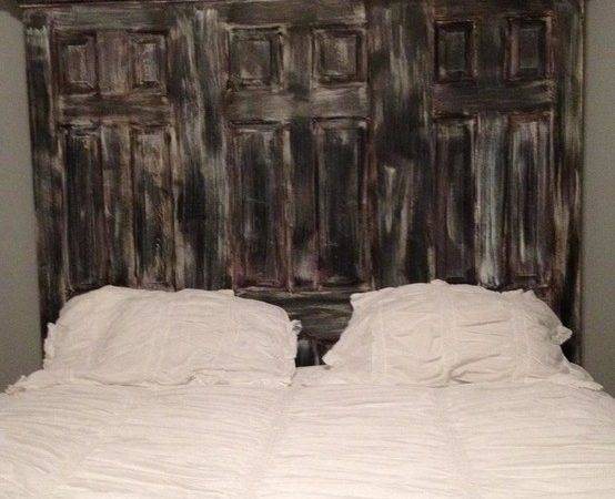 Door King Headboard Faux Finished Eclectic