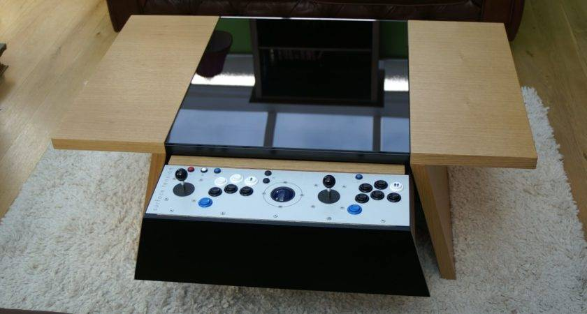 Double Contemporary Arcade Coffee Table Liberty Games