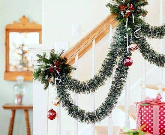 Draped Party Garlands Christmas Decorations Ideas