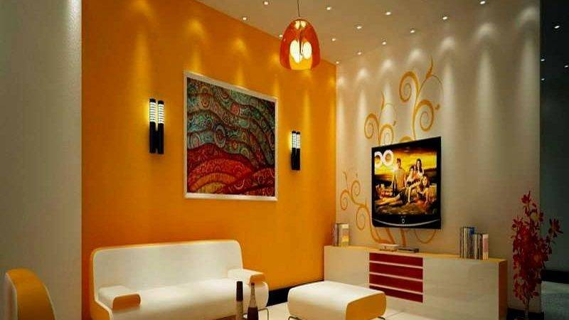 Drawing Room Wall Credit Colour Combination Homes