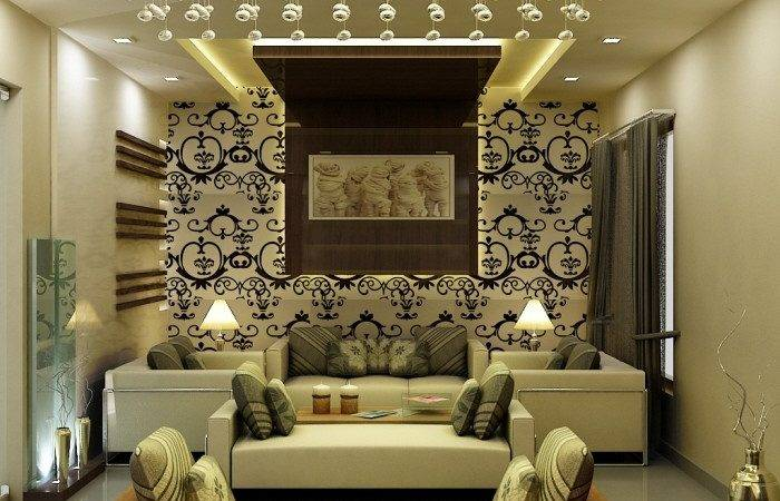 Drawing Room Wall Interior Example Rbservis