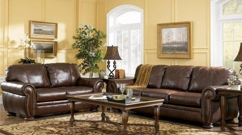 Dream House Decorating Ideas Brown Leather Sofa