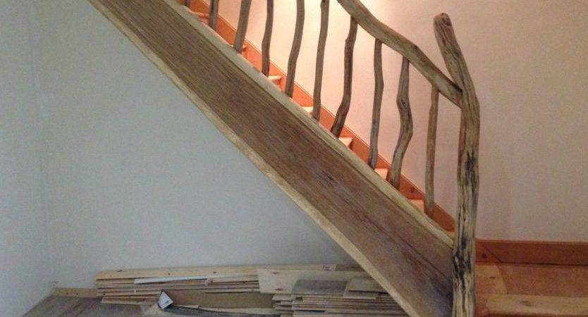 Driftwood Banister Stairs Some Our Creations