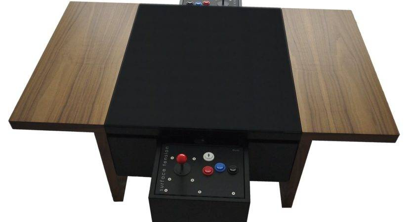 Dual Contemporary Arcade Coffee Table Liberty Games