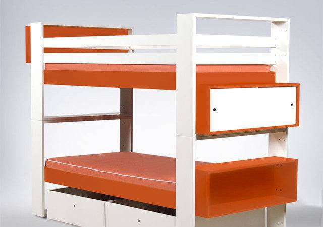 Ducduc Austin Painted Bunk Bed Modern Kids Beds