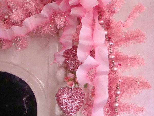 Dusky Pink Christmas Tree Decorations Ornaments