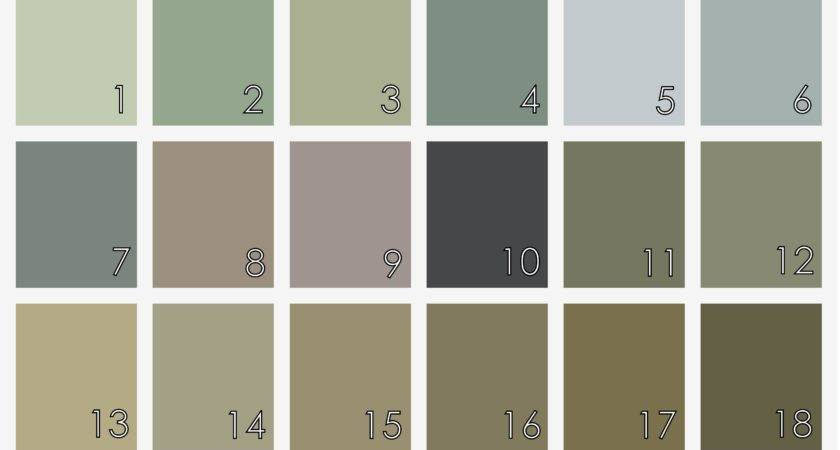 Earth Tone Paint Color Chart