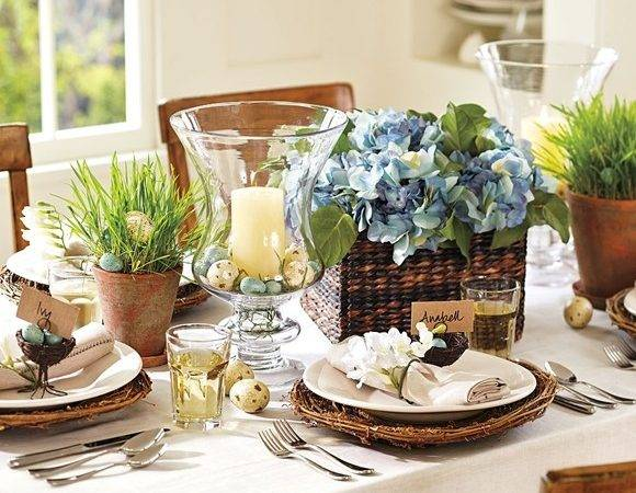 Easter Decorating Table Settings Daily Dream Decor