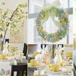 Easter Holiday Ideas Table Decoration