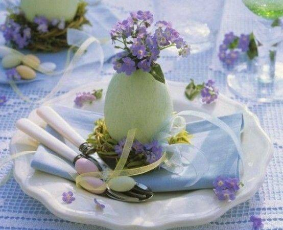 Easter Table Decorations Photos