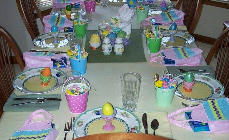 Easter Table Decorations Spring Decorating