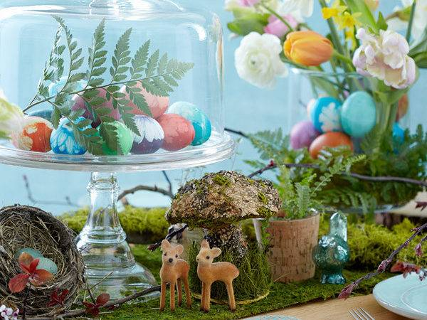 Easy Easter Table Decorating Ideas Brokeasshome