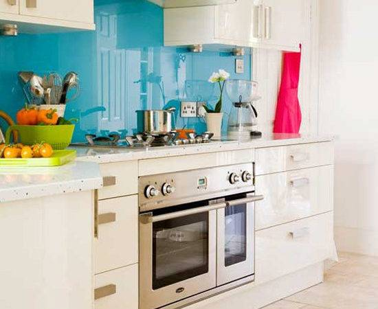 Easy Glass Splashbacks Kitchen