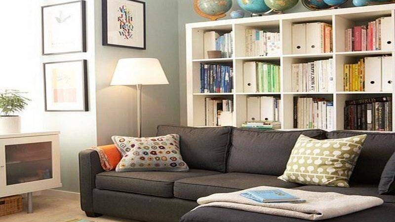 Easy Make Bookshelves Small Living Room Stroovi