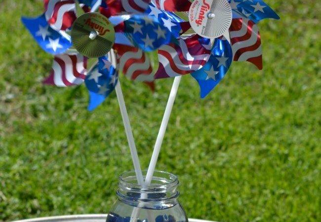 Easy Red White Blue Table Decorations Budget