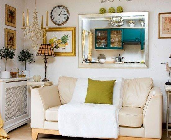 Eclectic Living Room Small Ideas