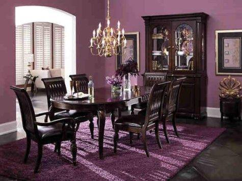 Eclectic Purple Dining Room Ideas Ultimate Home