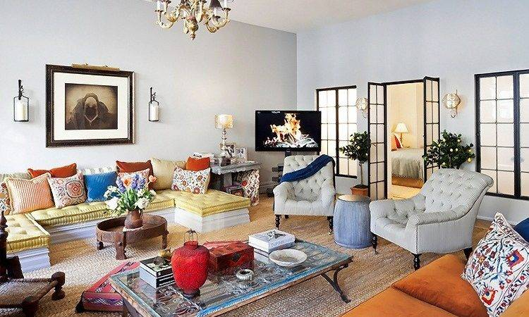 Eclectic Style New York Apartment Interior Design Home