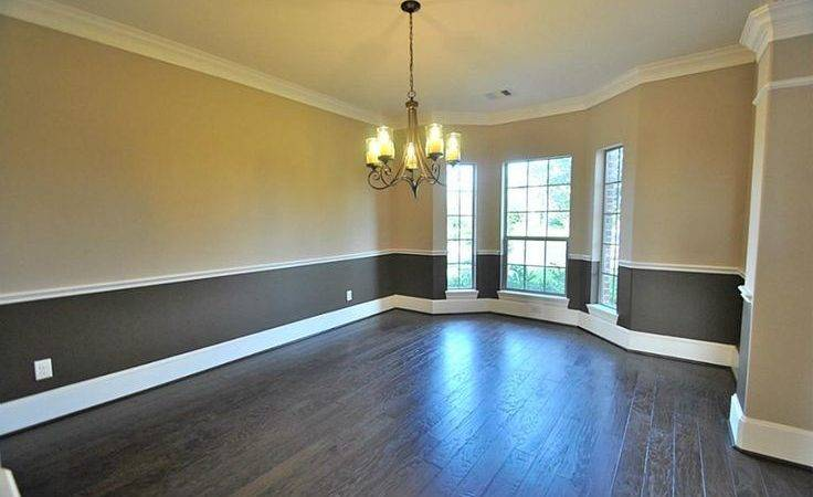 Elegant Formal Dining Room Upgrade Two Tone Interior