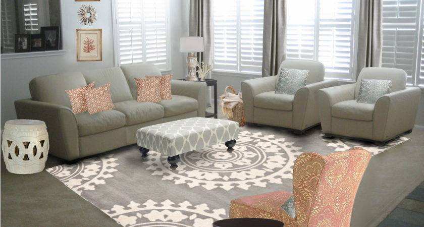 Elegant Gray Living Room Decorating Ideas Ivory