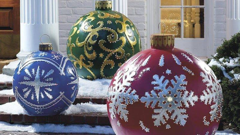Elegant Outdoor Christmas Decorations Perfect
