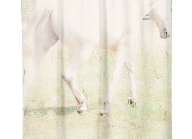 Ethereal Horse Shower Curtain Modern Curtains
