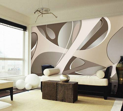 Europe Large Abstract Wall Mural Murals