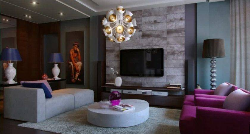 Examples Living Room Decor Great