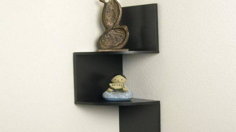 Excellent Photos Corner Wall Mounted Shelves Home