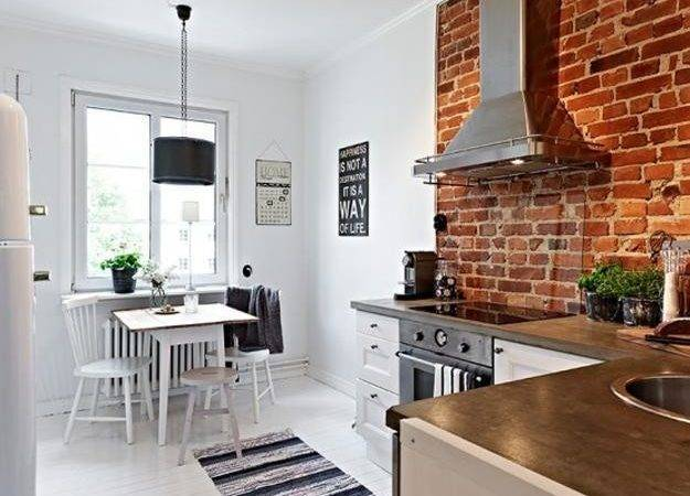 Exposed Brick Wall Designs Defining One Latest