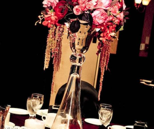 Eye Candy Tall Centerpieces Planning Project Wedding