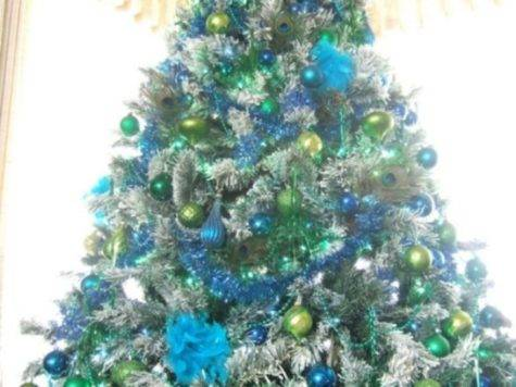 Eye Catching Green Christmas Tree Decorations Ideas