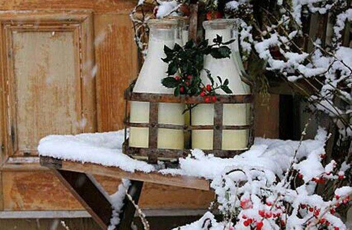 Fabulous Rustic Country Christmas Decorating Ideas