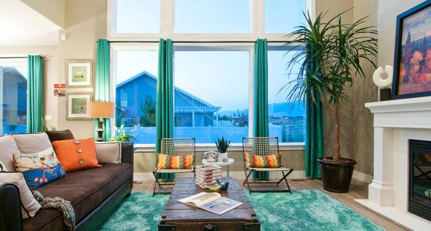 Fabulous Turquoise Curtains Decorating Ideas Living