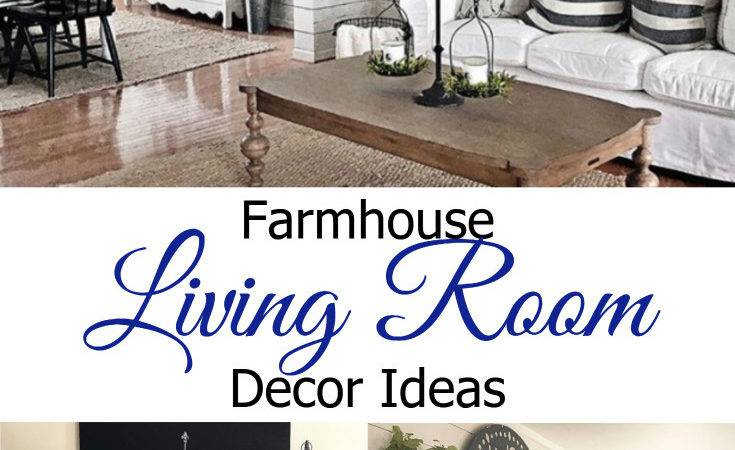 Farmhouse Living Rooms Modern Room