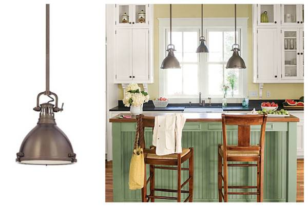 Farmhouse Style Kitchen Lighting