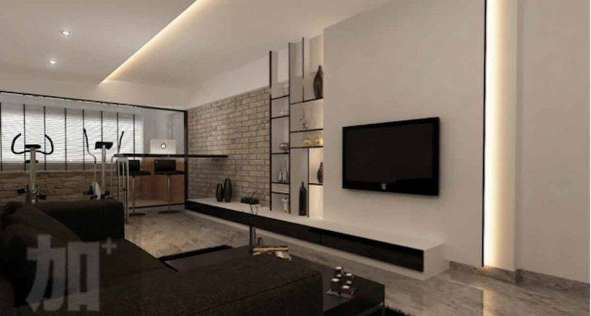 Feature Wall Design Living Room Singapore